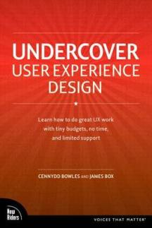 Undercover user experience design, de Cennydd Bowles et James Box (New Riders)
